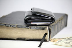 Is the Church putting money before God?