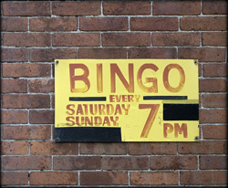 Church Events - Bingo