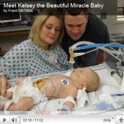 Meet Kelsey the beautiful miracle baby - Share your stories