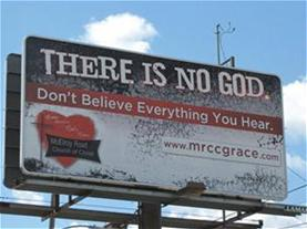 McElroy Road Church of Christ billboard